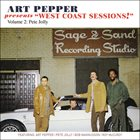 "ART PEPPER Art Pepper Presents ""West Coast Sessions!"" Volume 2: Pete Jolly album cover"
