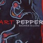 ART PEPPER Besame Mucho album cover