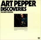ART PEPPER Discoveries album cover