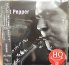 ART PEPPER Live In Milan 1981 album cover