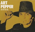 ART PEPPER Live in USA album cover