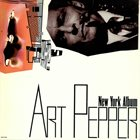 ART PEPPER New York Album album cover