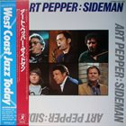ART PEPPER Sideman album cover