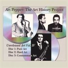 ART PEPPER The Art History Project album cover