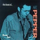 ART PEPPER The Best of... album cover
