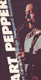 ART PEPPER The Complete Village Vanguard Sessions album cover