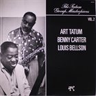 ART TATUM Art Tatum / Benny Carter / Louis Bellson ‎: The Tatum Group Masterpieces Vol. 2 album cover
