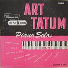 ART TATUM Piano Solos Vol. 2 album cover
