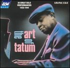 ART TATUM The Art of Tatum album cover