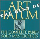 ART TATUM The Best of the Complete Pablo Solo Masterpieces album cover