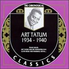 ART TATUM The Chronological Classics: Art Tatum 1934-1940 album cover