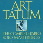 ART TATUM The Complete Pablo Solo Masterpieces album cover