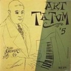 ART TATUM The Genius of Art Tatum #5 album cover