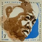 ART TATUM The Genius Of Art Tatum # 7 album cover