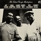 ART TATUM Art Tatum / Lionel Hampton / Harry Edison / Buddy Rich / Red Callender / Barney Kessel ‎: The Tatum Group Masterpieces album cover