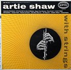 ARTIE SHAW Artie Shaw With Strings album cover