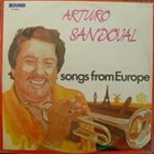 ARTURO SANDOVAL Songs From Europe album cover