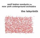 ASSIF TSAHAR Assif Tsahar conducts the New York Underground Orchestra : The Labyrinth album cover