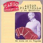 ASTOR PIAZZOLLA En vivo en el Regina album cover