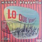 ASTOR PIAZZOLLA Lo que vendrá album cover