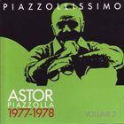 ASTOR PIAZZOLLA Piazzollissimo 1977-1978 album cover