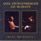 AXEL ZWINGENBERGER Axel Zwingenberger und Jay McShann live in Wien : Swing The Boogie! album cover