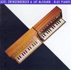 AXEL ZWINGENBERGER Blue Pianos album cover