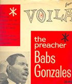 BABS GONZALES Voila The Preacher album cover