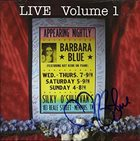 BARBARA BLUE LIVE Volume 1 album cover