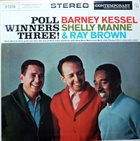 BARNEY KESSEL Poll Winners Three ! album cover