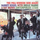 BARNEY KESSEL The Poll Winners Ride Again ! album cover
