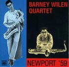 BARNEY WILEN Newport '59 album cover
