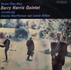 BARRY HARRIS Newer Than New album cover
