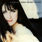 BASIA (BASIA TRZETRZELEWSKA) London Warsaw New York album cover