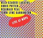BÉLA SZAKCSI LAKATOS Szakcsi / Potter / Veal / Carrington : Live at MüPa album cover