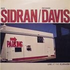 BEN SIDRAN Ben Sidran / Richard Davis : Live At The Elvehjem Art Museum album cover