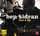 BEN SIDRAN Live a Fip album cover
