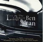 BEN SIDRAN Live At The Celebrity Lounge album cover