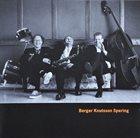 BENGT BERGER Berger Knutsson Spering album cover