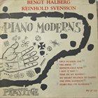 BENGT HALLBERG Bengt Halberg, Reinhold Svensson : Piano Moderns album cover