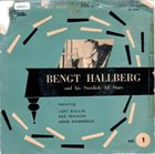 BENGT HALLBERG Bengt Hallberg And His Swedish All Stars ‎– Vol. 1 album cover