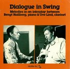 BENGT HALLBERG Dialogue In Swing album cover