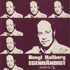 BENGT HALLBERG Egenhändigt album cover