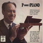 BENGT HALLBERG P Som I Piano album cover
