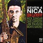 BENN CLATWORTHY Seven 4 Nica album cover