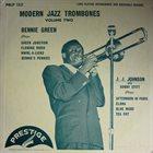 BENNIE GREEN (TROMBONE) Bennie Green, J.J. Johnson With Sonny Stitt : Modern Jazz Trombones Volume Two album cover