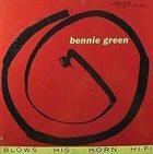 BENNIE GREEN (TROMBONE) Blows His Horn album cover