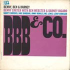 BENNY CARTER BBB & Co. (aka Opening Blues) album cover