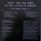 BENNY CARTER Benny Carter And Coleman Hawkins ‎: Benny And The Hawk On The Loose In Europe Vol.4 album cover