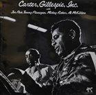 BENNY CARTER Benny Carter & Dizzy Gillespie : Carter, Gillespie, Inc. album cover